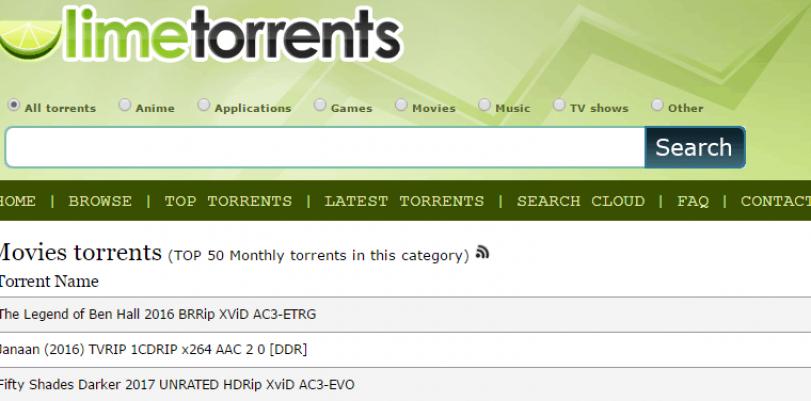 limetorrents website proxy