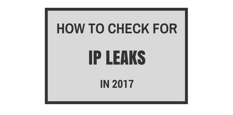 What Is the Best Way to Check For IP Leaks?