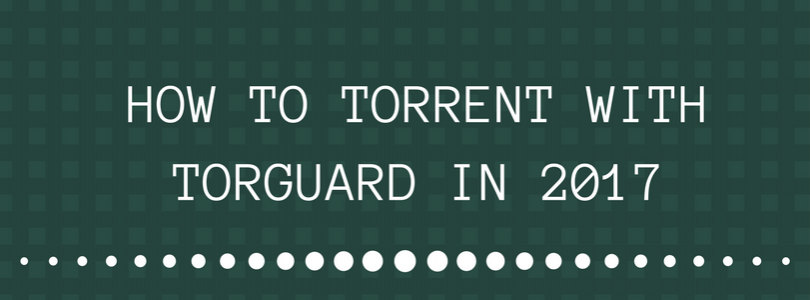 HOW TO TORRENT WITH TORGUARD