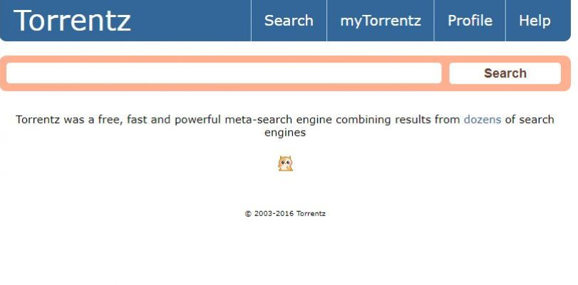 Torrentz Search Engine New!