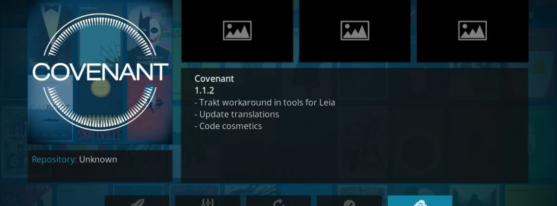 covenant-kodi-configuration