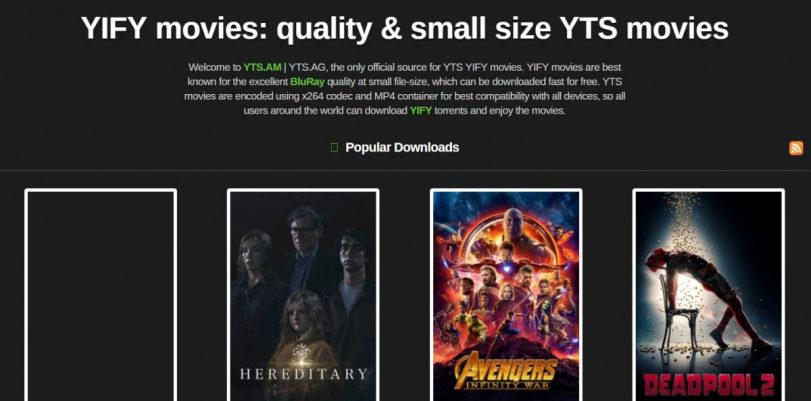 7 Best Yify Alternatives